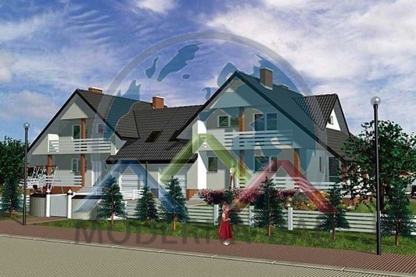 Moderna-Bau Doppelhaus KD 2