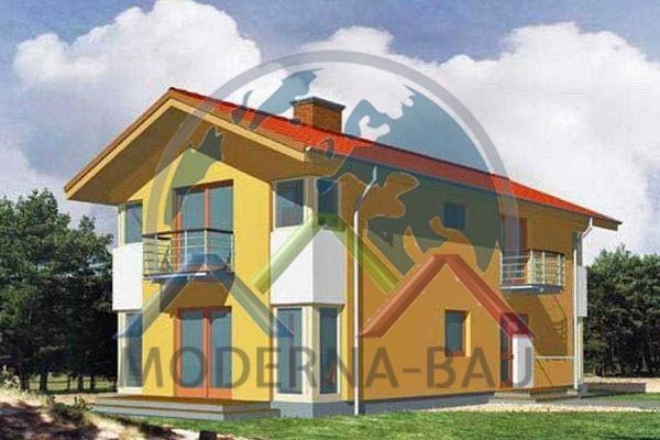 Moderna-Bau Fertighaus KM 2