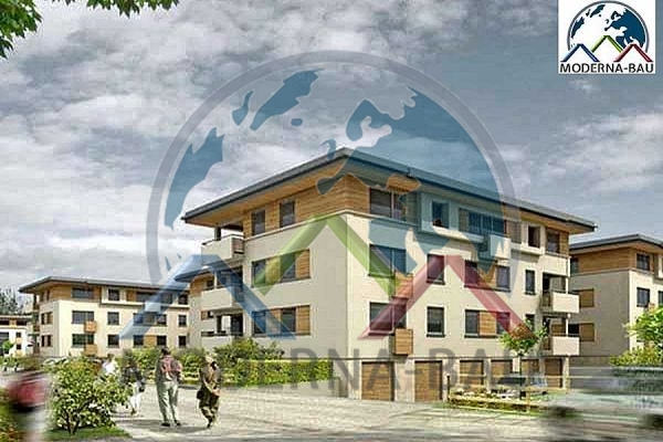 Moderna-Bau Mehrfamilienhaus KAT 3