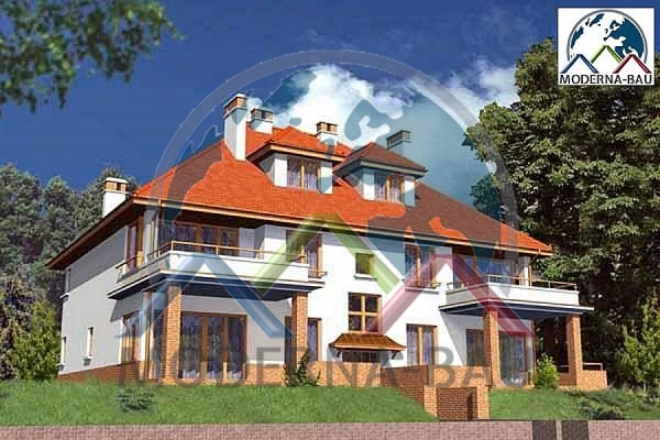 Moderna-Bau Mehrfamilienhaus KAT 4