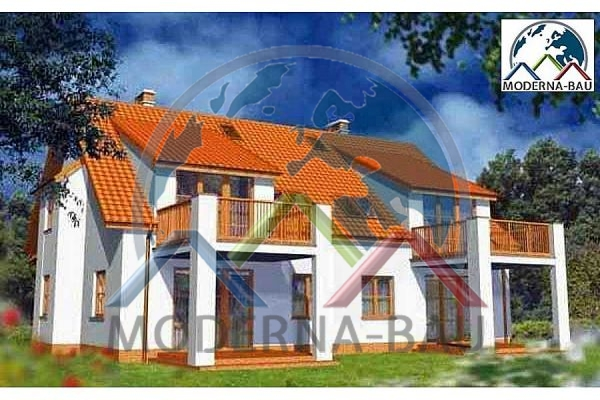 Moderna-Bau Mehrfamilienhaus KAT 5