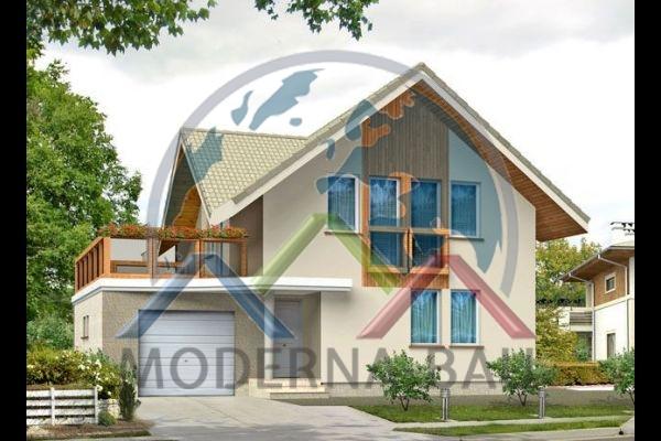 Moderna-Bau Fertighaus KM 10