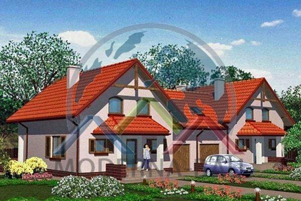 Moderna-Bau Doppelhaus KD 6