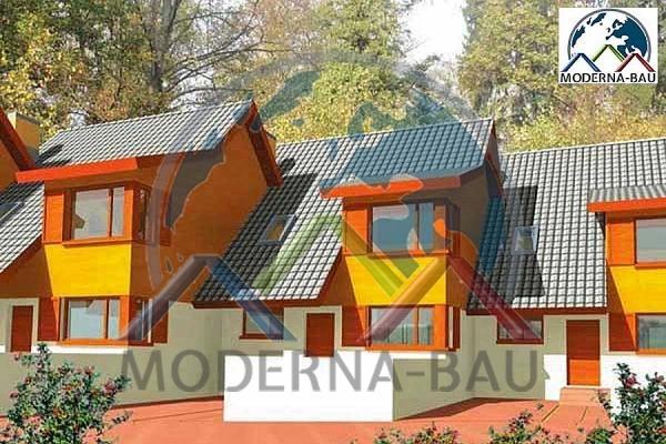 Moderna-Bau Reihenhaus KR 12