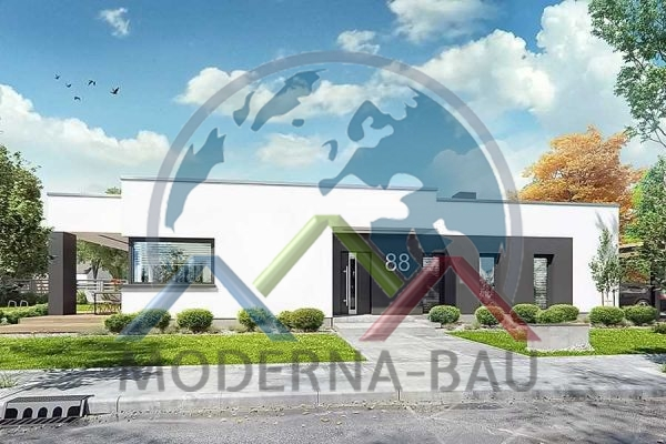 Moderna-Bau low-energy house KB 43