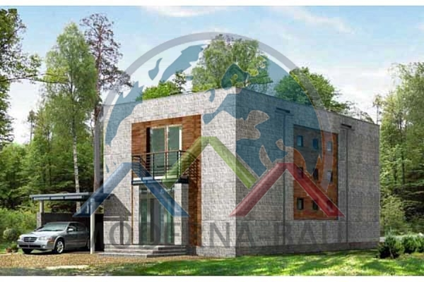 Moderna-Bau low-energy house KM 16