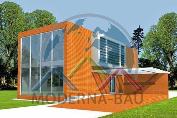 Moderna-Bau Fertighaus KM 25