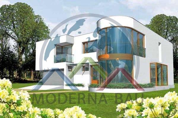 Moderna-Bau Fertighaus KM 26