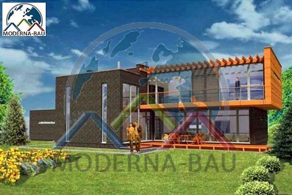 Moderna-Bau Fertighaus KM 49