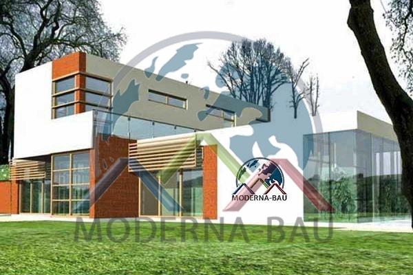 Moderna-Bau Fertighaus KM 60