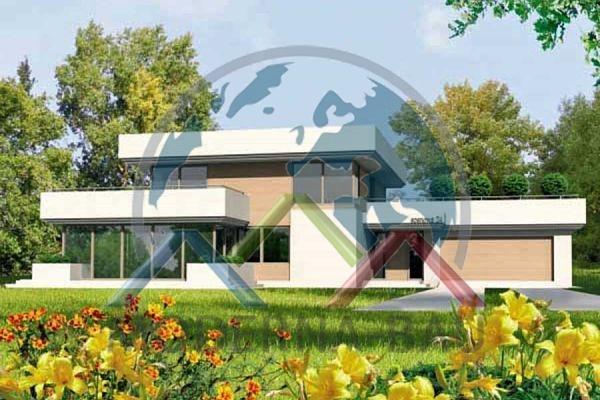 Moderna-Bau Fertighaus KM 62