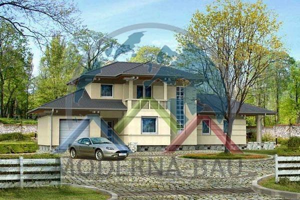 Moderna-Bau Fertighaus KM 9