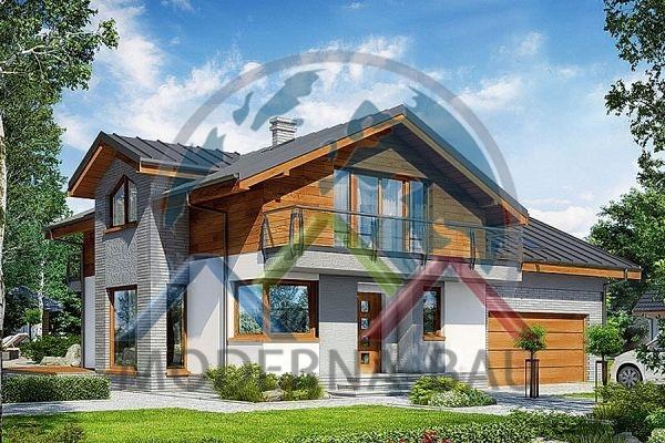 Moderna-Bau Fertighaus KH 125