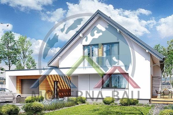 Moderna-Bau fertighaus KH 128