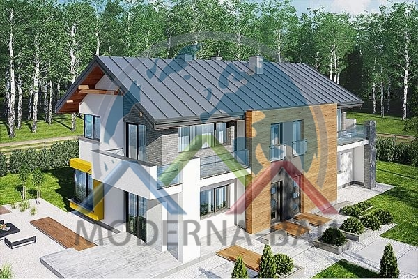 Moderna-Bau low-energy house KD 54