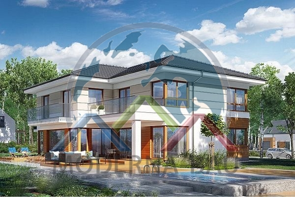 Moderna-Bau maison écologique KH 130