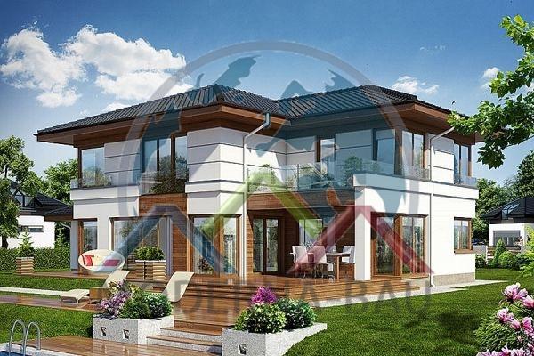 Moderna-Bau maison écologique KH 131
