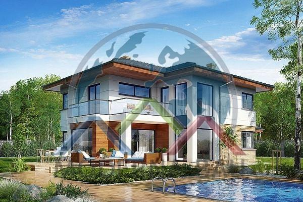 Moderna-Bau maison écologique KH 133