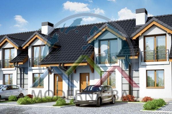 Moderna-Bau Reihenhaus KR 5