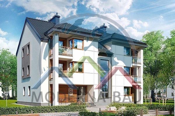 Moderna-Bau Mehrfamilienhaus KAT 9