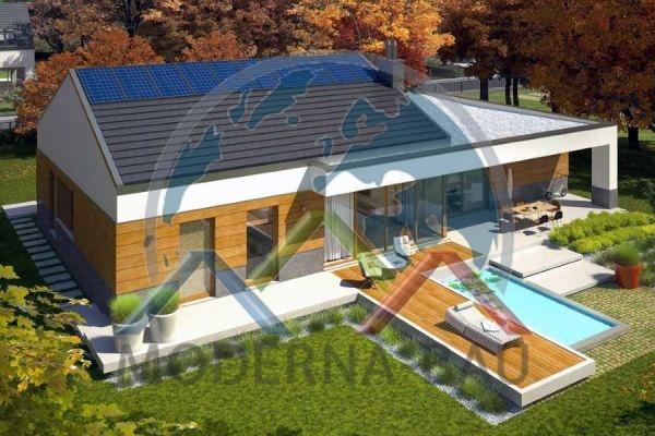 Moderna-Bau low-energy house KB 53