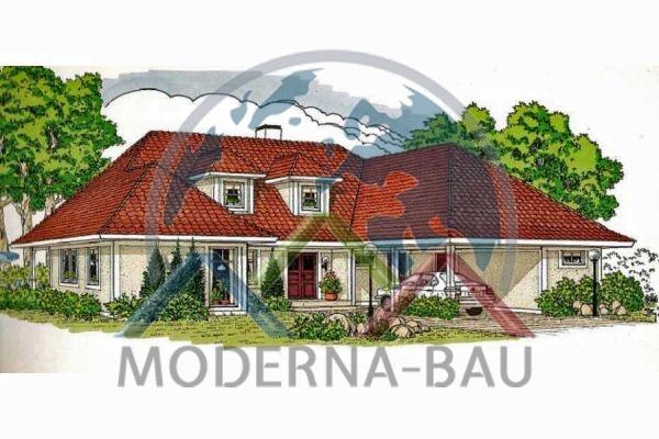 Moderna-Bau Schwedenhaus Arhult