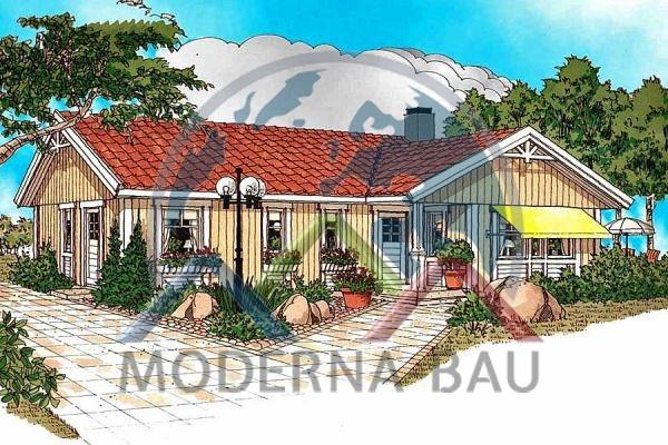 Moderna-Bau low-energy house Breviken